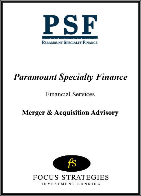 Paramount Specialty Finance Final