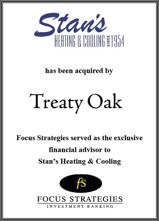 Investment Banking Transactions Focus Strategies Investment Banking